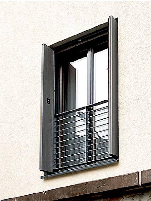 volets en aluminium fabulous voici une rnovation de volets with volets en aluminium top volet. Black Bedroom Furniture Sets. Home Design Ideas
