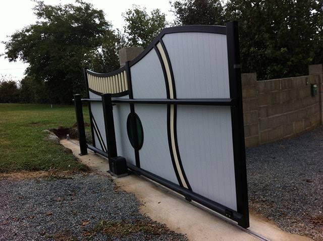 portail alu sarl moreau david la roche sur yon vend e 85. Black Bedroom Furniture Sets. Home Design Ideas
