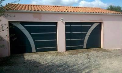 Porte de garage 85